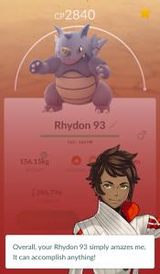 pokemon go appraisal