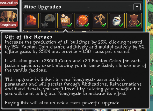 gift of the heroes realm grinder