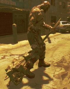 hammer zombie