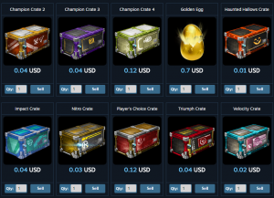 sell crates