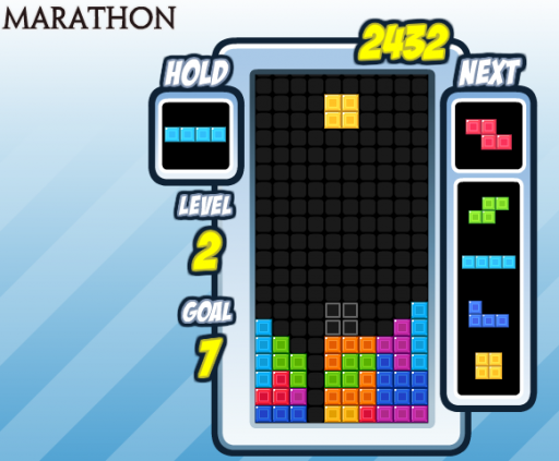 marathon mode clear 15 levels without topping out
