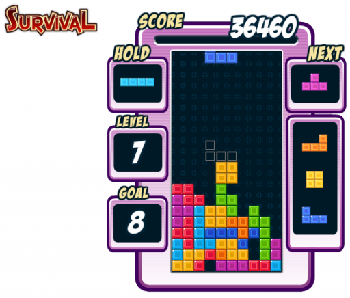 survival mode try to beat 20 levels