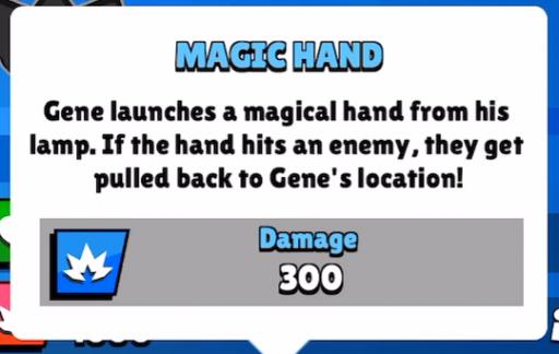 magic hand super ability gene