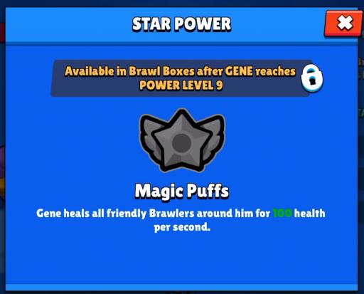 star power for gene magic puffs