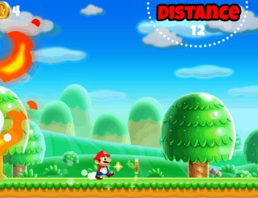 Super Mario run flash