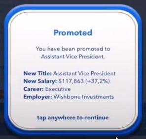 bitlife assistant vice president