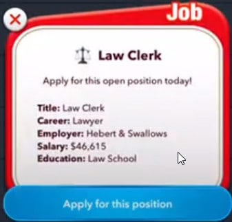 becoming a law clerk
