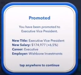 how to become ceo in bitlife - executive vice president