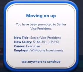 senior vice president bitlife