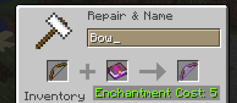 minecraft bow power v enchantment